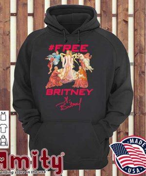 #Free Britney signatures hoodie