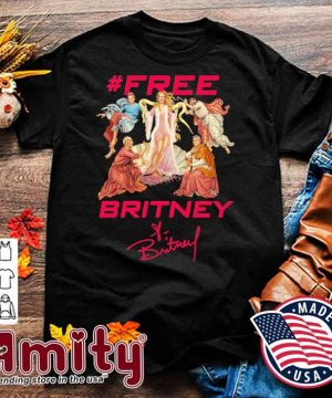 #Free Britney signatures shirt