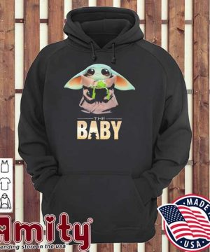 Baby Yoda and Frog the Baby hoodie