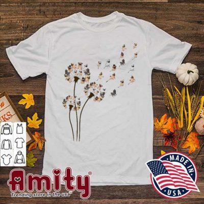 Dandelion Pug cute shirt