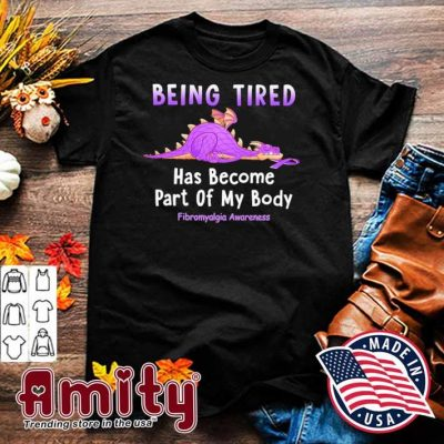 Dragon being tired has become part of my body shirt