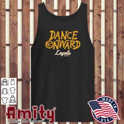 Dance onward loyola chicago tank-top