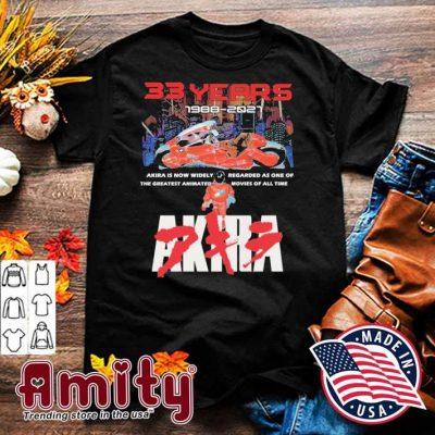 33 years 1988 2021 Akira shirt