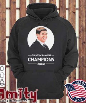 Glasgow rangers Champions 2020 21 hoodie