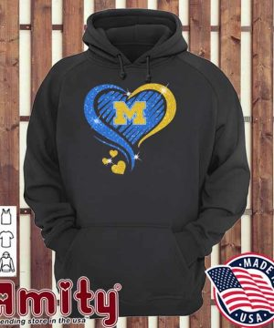 Heart Diamond Michigan football 2021 hoodie