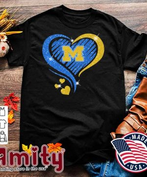 Heart Diamond Michigan football 2021 shirt
