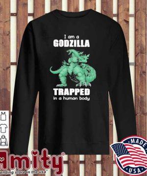 I am a Godzilla trapped In a human body sweater