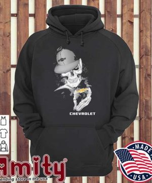 Skeleton and Smoking Chevrolet 2021 hoodie