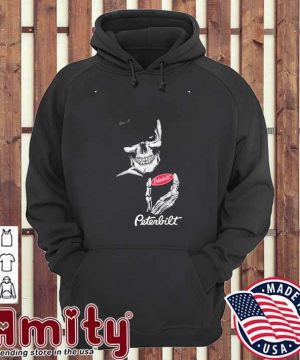 Skeleton and Smoking Peterbilt 2021 hoodie