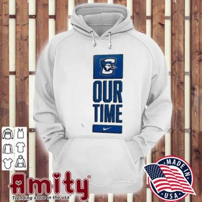 Nike creighton bluejays basketball our time bench legend hoodie