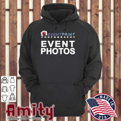 Event print photography event photos hoodie