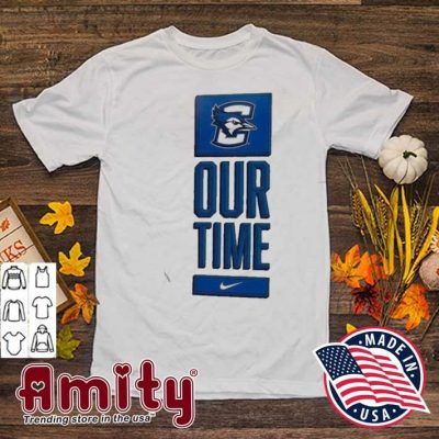 Nike creighton bluejays basketball our time bench legend shirt