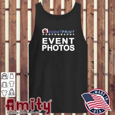 Event print photography event photos tank-top