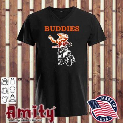Cycles Buddies v-neck