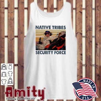 Native Tribes security force vintage tank-top