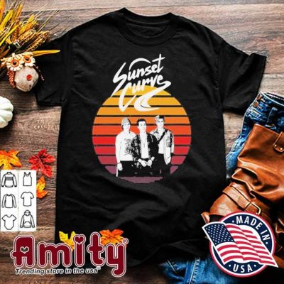 Sunset Curve Vintage Shirt