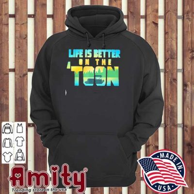Boating life is better on the toon hoodie