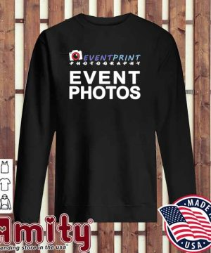 Event print photography event photos sweater