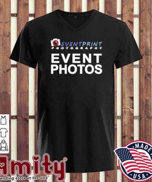 Event print photography event photos v-neck