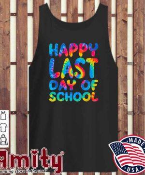 Happy last day of school tank-top