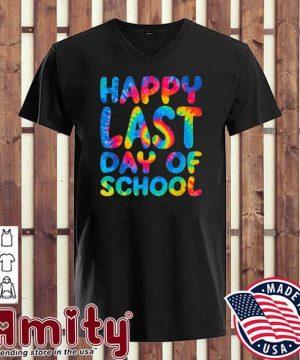 Happy last day of school v-neck