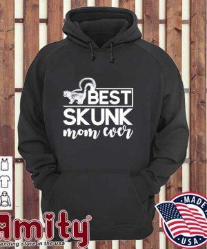 Mothers day skunk mom gift skunk hoodie