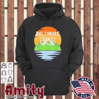 From baltimore county maryland vintage hoodie