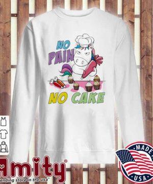 Unicorn no pain no care sweater