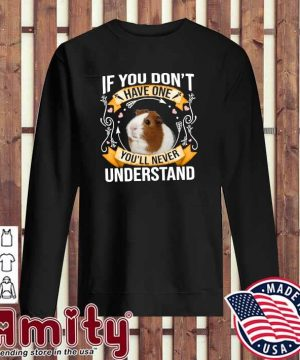 Guinea Pigs If You Don't Have One You'll Never Understand Shirt sweater