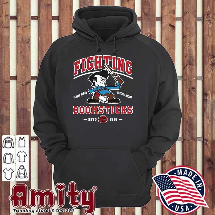 Fighting laatu Verata Necktie Nectar BoomSticks ESTD 1981 Shirt hoodie