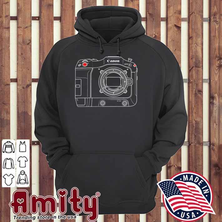 Canon eos c70 camera hoodie