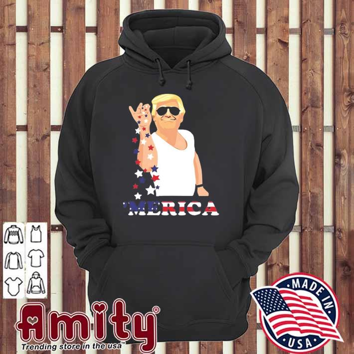 Merica Trump outfits don't drunk Donald drunk 4th of july hoodie