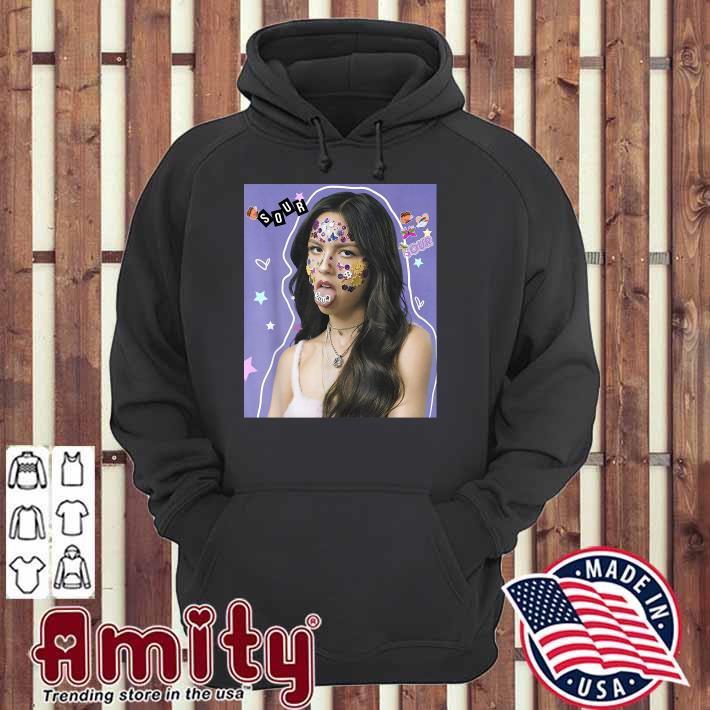 Olivia Rodrigo Sour Album Shirt hoodie