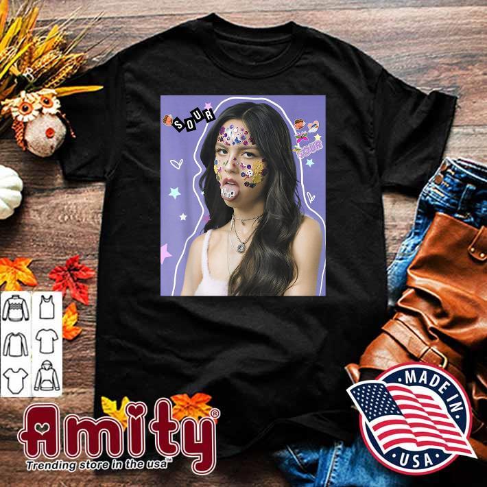 Olivia Rodrigo Sour Album Shirt